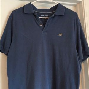 Banana Republic Blue Size Medium Polo